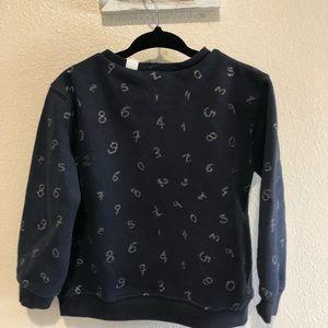 Zara Shirts & Tops - Zara girl crew neck sweater NWT